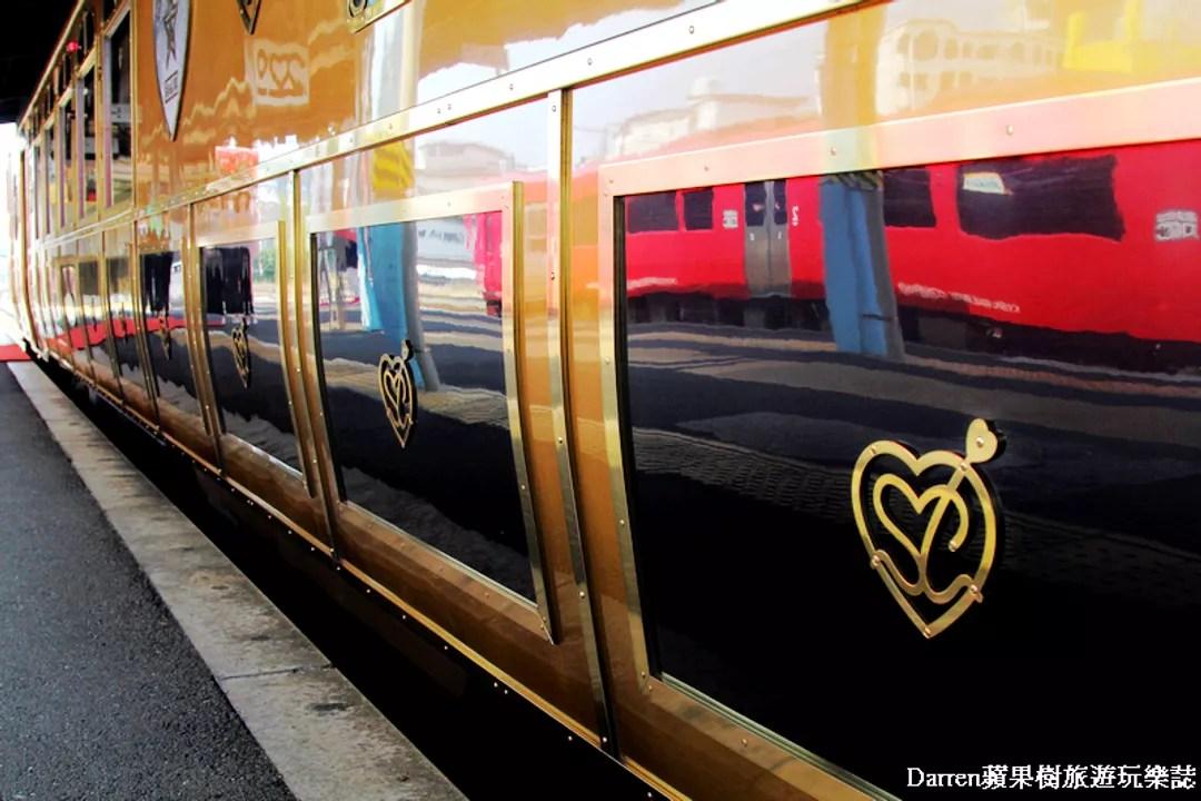 『日本JR九州觀光列車』甜點列車ARU 或る列車 sweet train/滿載夢幻甜點的金色火車/日本九州甜點列車預約@Je ...
