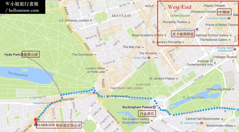英國遊報|倫敦散步地圖-四天行程三路線-自由行完整攻略,一個女生的走走停停拍拍,行前準備,住宿交通 ...