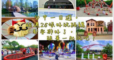 2020台中旅遊景點懶人包》連休假這樣玩!台中一日遊景點行程規劃超過31條路線全攻略!