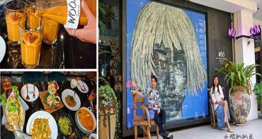 台中泰式料理》WOO Taiwan台中米平方店。道地清邁宮廷泰式料理,台中中科米平方商場美食