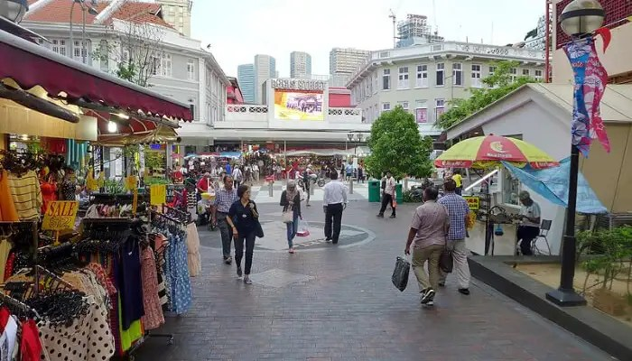 Bugis Street in Singapore