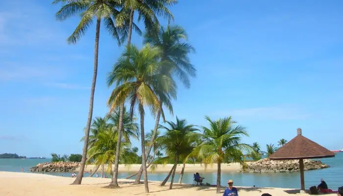 Tanjong Beach in Singapore