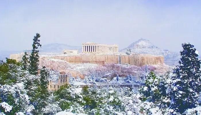 greece in december 2019