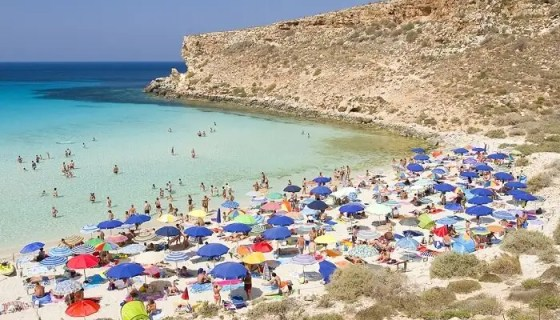 undoubtedly one of the most beautiful beaches in Italy