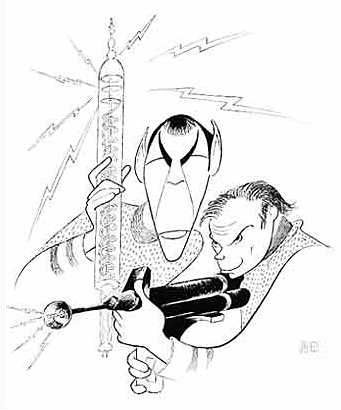 A New Hirschfeld Draws Star Trek's New Crew