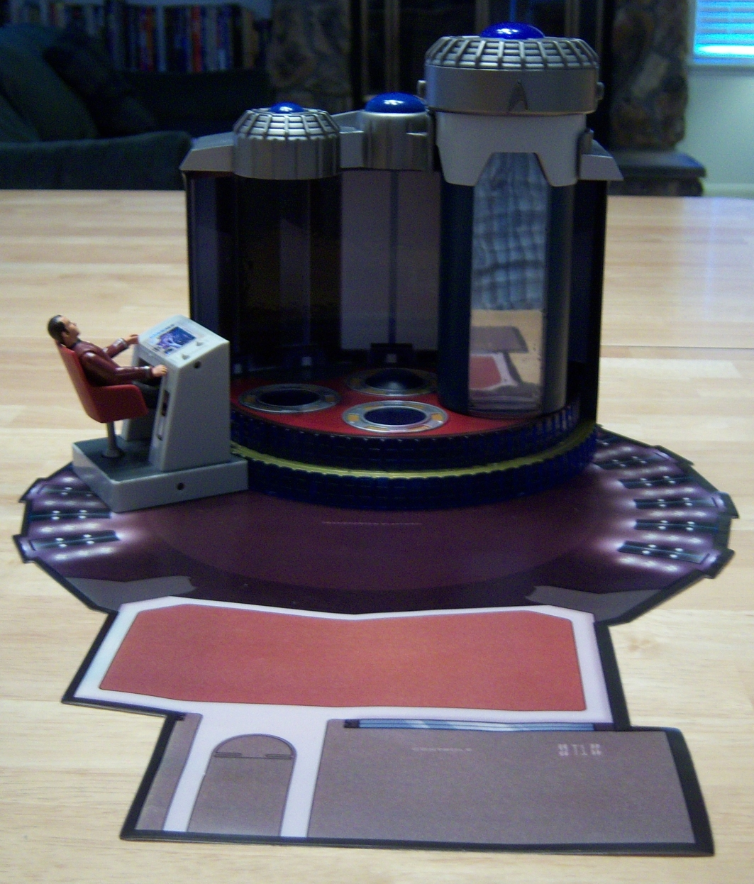 Playmates Week Day 2 Review Of Star Trek Playsets