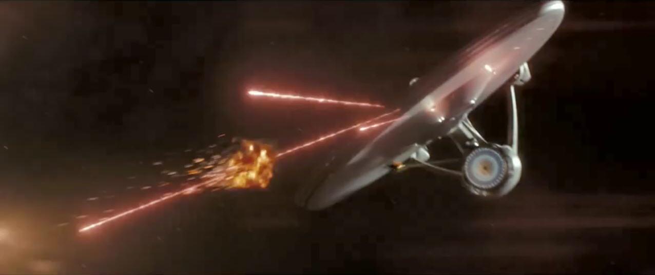 Wallpaper Falling Off Ceiling Star Trek Super Bowl Commercial Officially Online