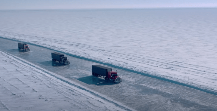 An action movie set on the Ice Road will appear on Netflix next month –  Jioforme