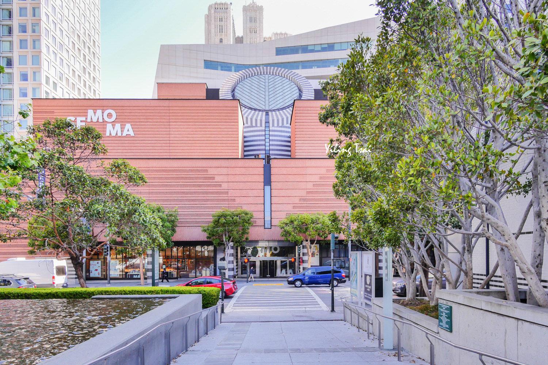 美國舊金山景點 舊金山現代藝術博物館 SFMOMA - 蔡小妞依玲