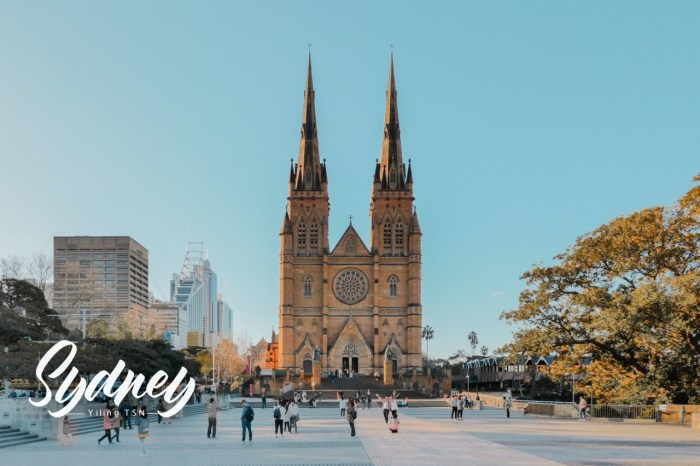澳洲雪梨景點 聖母主教座堂 St Mary's Cathedral 澳洲最大教堂
