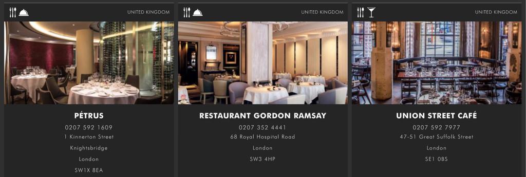 [英國 倫敦] 地獄廚房拉姆齊主廚米其林三星餐廳 Restaurant Gordon Ramsay - 蔡小妞依玲