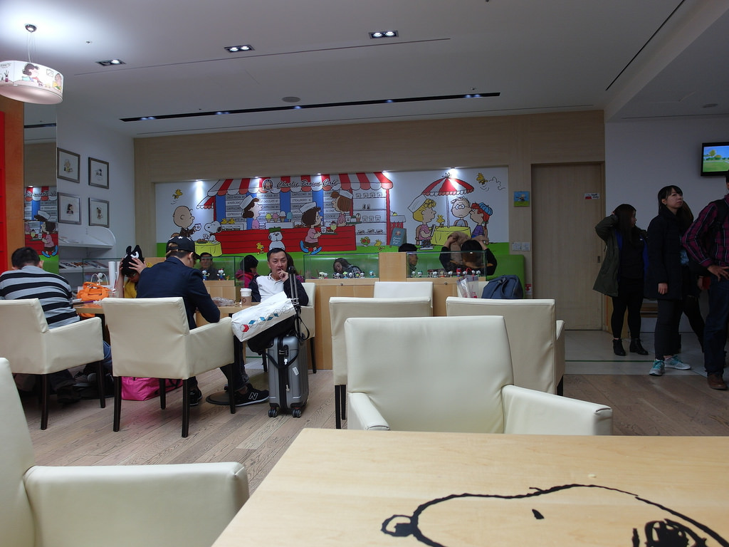 [韓國 仁川] 仁川機場查理布朗咖啡 Charlie Brown Cafe - 蔡小妞依玲