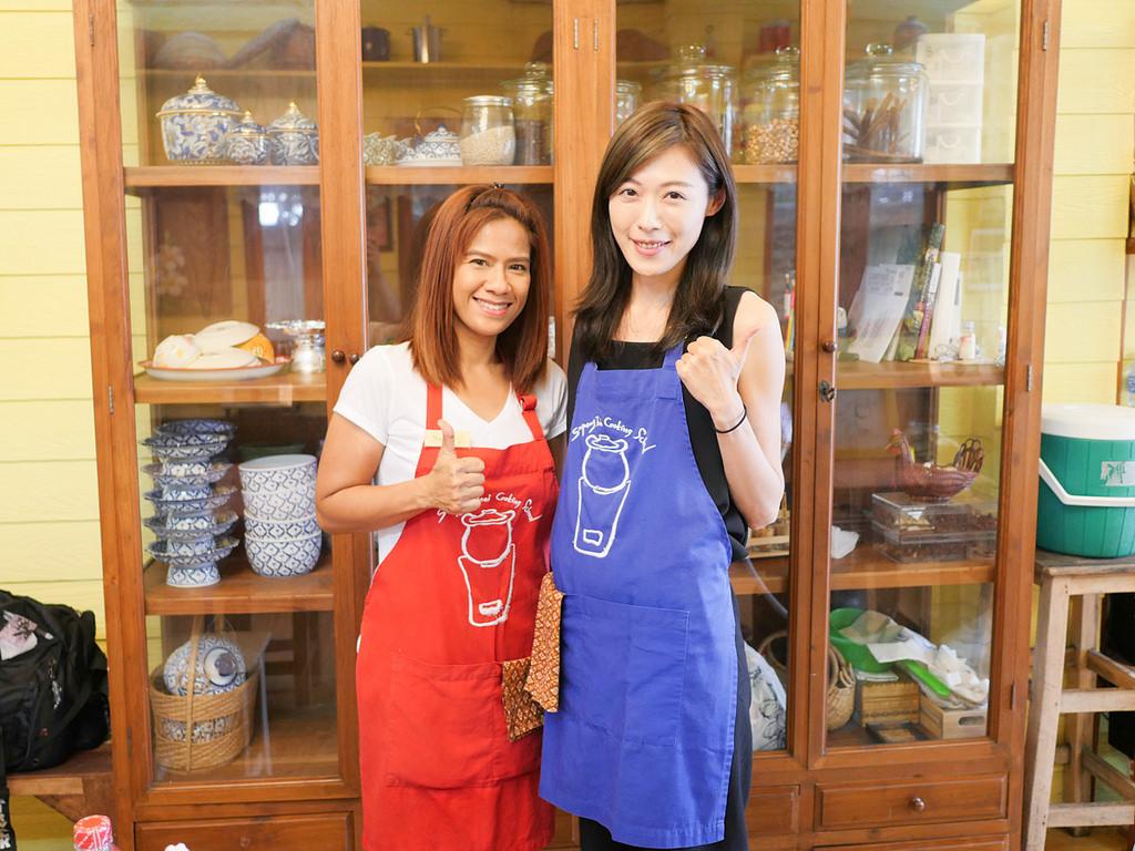 曼谷廚藝教室 Sompong Thai Cooking School 道地泰國菜課程教學 - 蔡小妞依玲