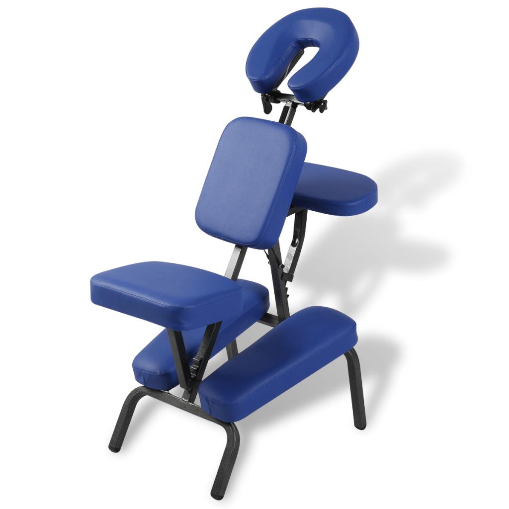 folding z chair orange covers blau portable massage and blue lovdock