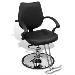 Professional Barber Chair Reviews Custom Gaming Chairs Black Artificial Leather