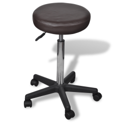 United Chair Medical Stool Chairs Cushion Pads Black Brown Office Lovdock