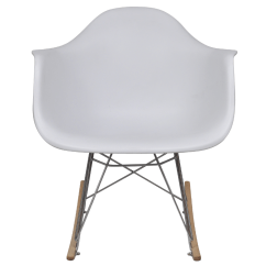 Metal Leg Chair Leather Pub White Rocking With Legs Lovdock