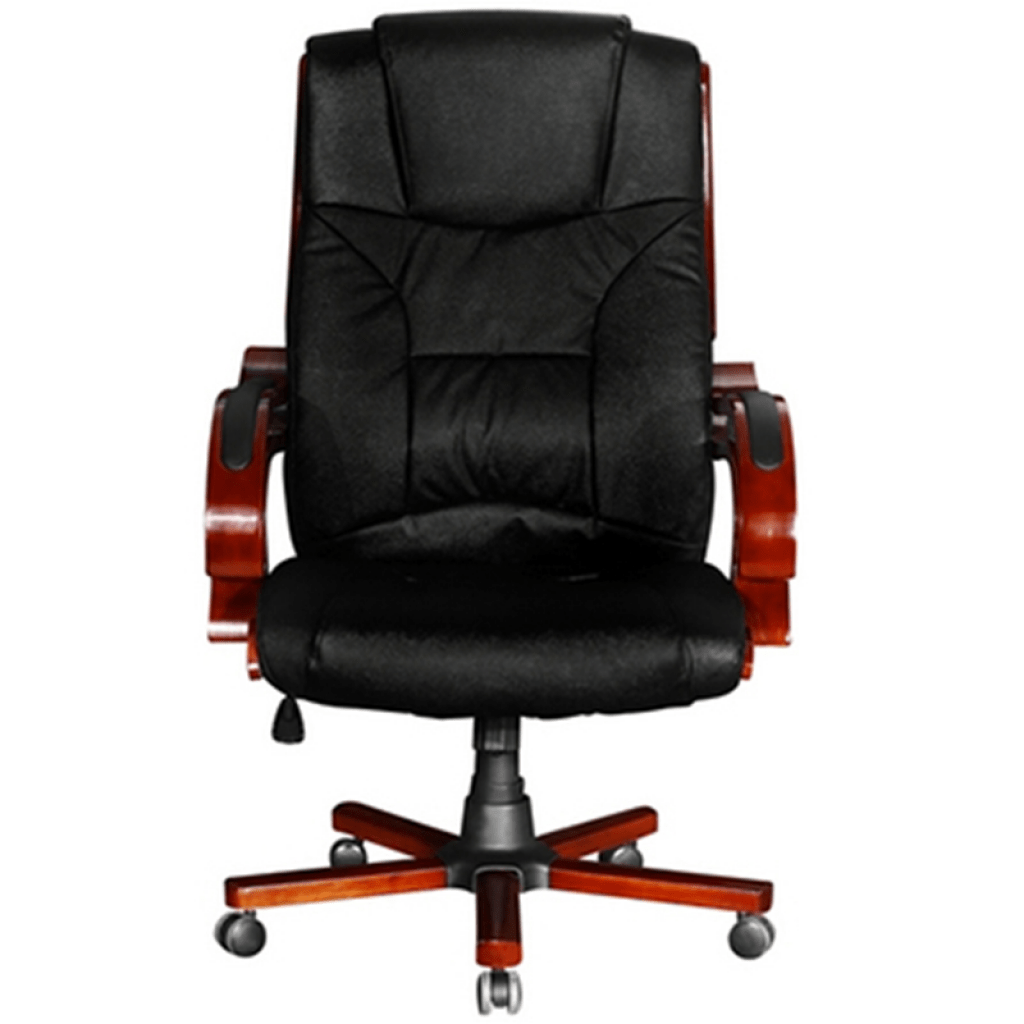 black leather office chair high back aluminum webbed lawn chairs real lovdock com