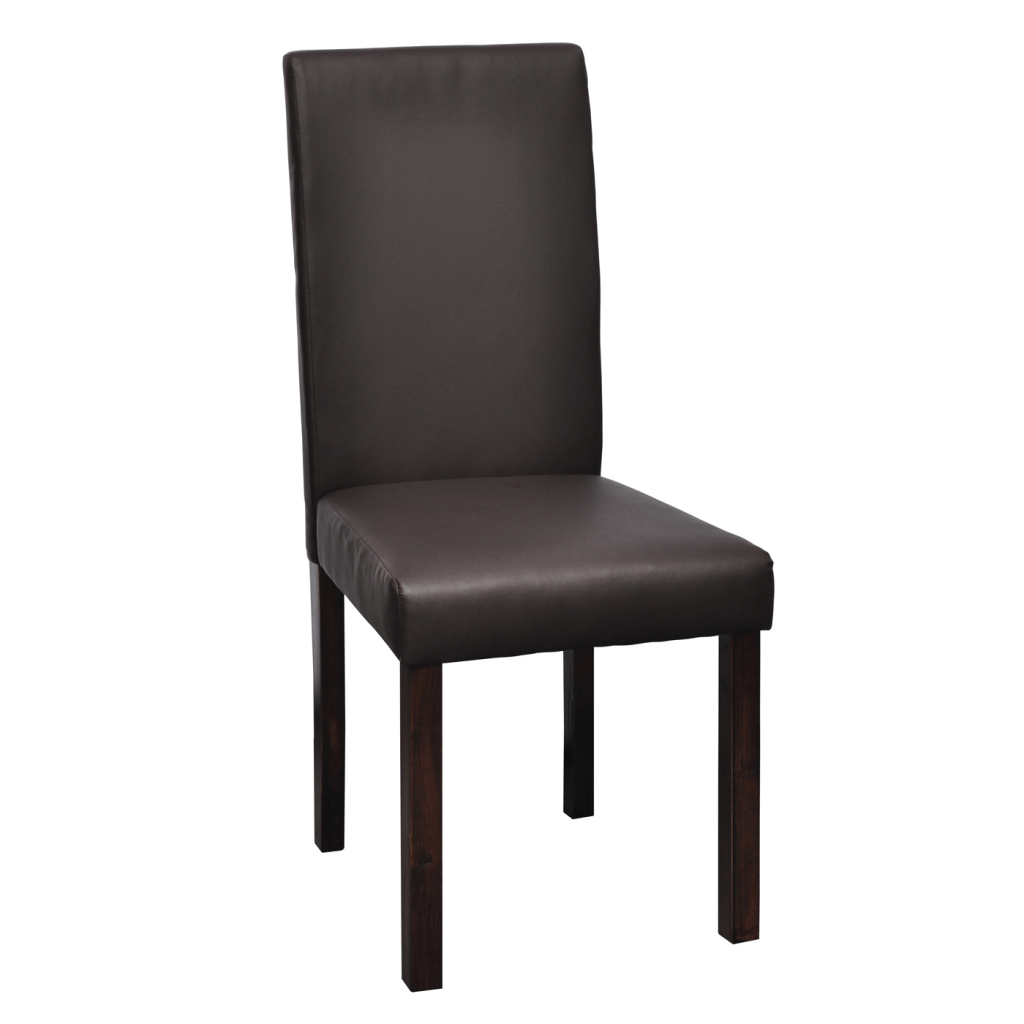 leather dining chairs australia kitchen table chair black red 4 x brown lovdock