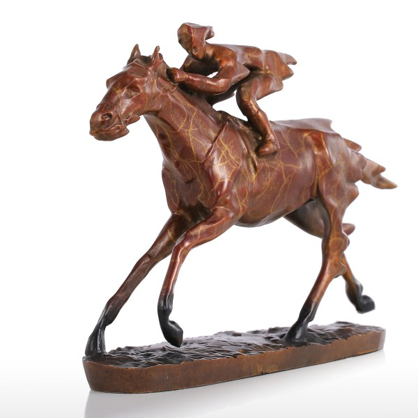 And Cheap Brown Tomfeel Horse Racing Modern Bronze