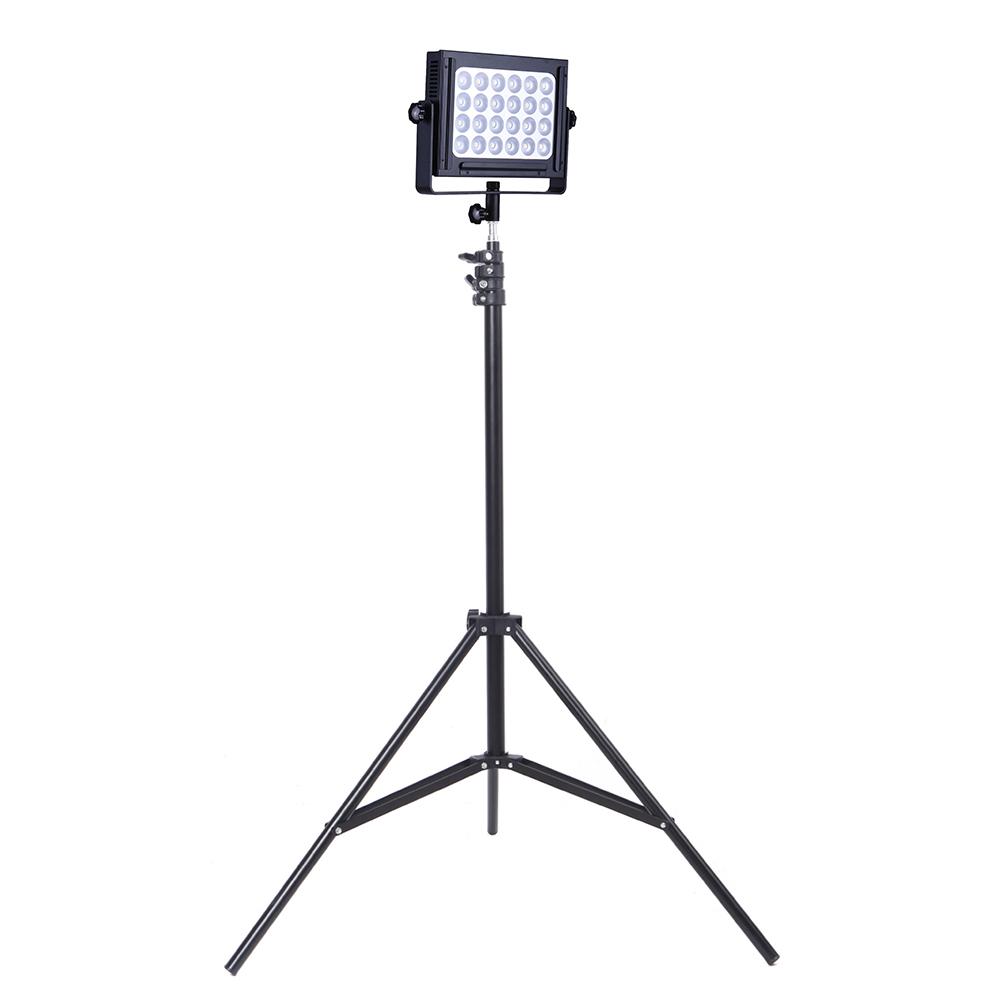 Zifon ZF-6000 LED Video Panel Light Kit w/ 200cm/6.56ft