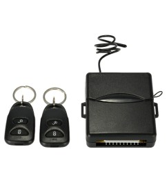 kkmoon car remote central lock locking keyless entry system with remote controllers [ 1000 x 1000 Pixel ]