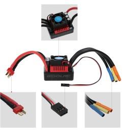 goolrc s3674 2650kv sensorless brushless motor 120a brushless esc rh rcmoment com rc car motor wiring [ 1000 x 1000 Pixel ]