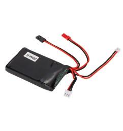 2s 7 4v 2200mah 8c lipo battery for futaba 14sg remote controller rc transmitter [ 1000 x 1000 Pixel ]