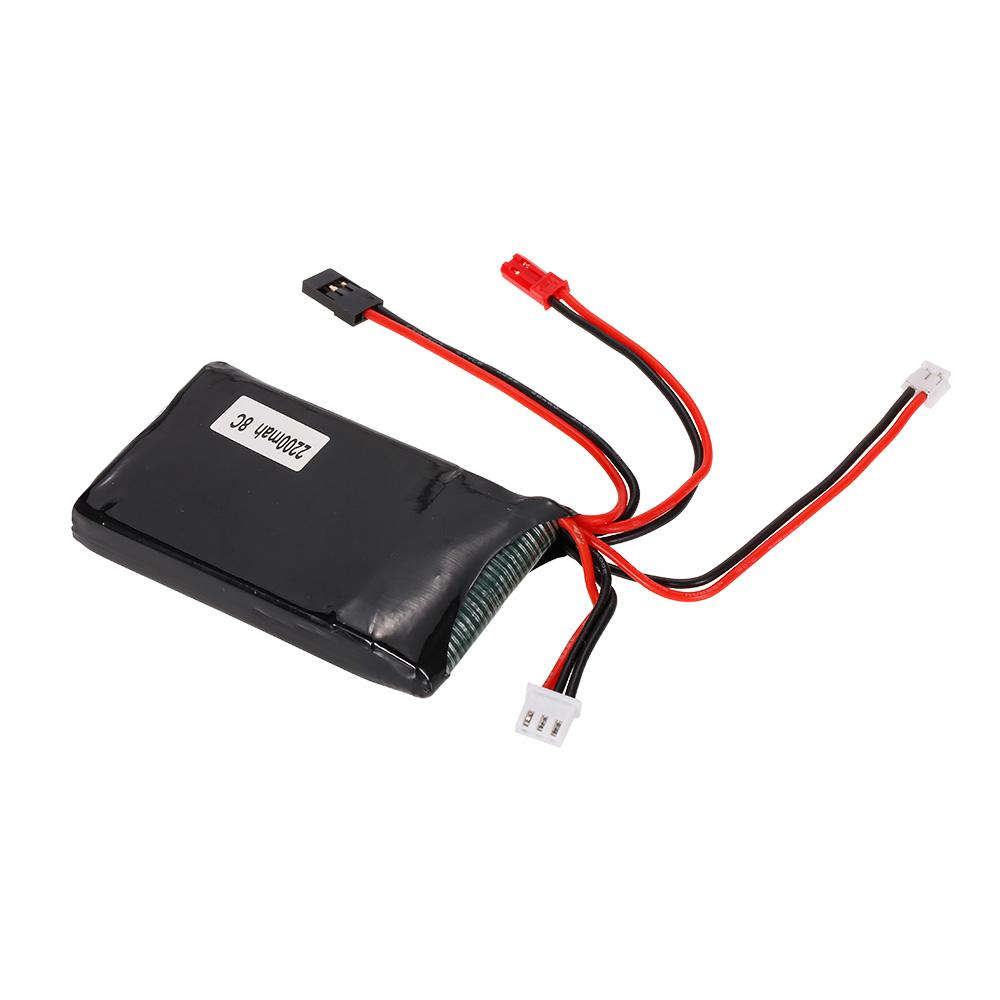 medium resolution of 2s 7 4v 2200mah 8c lipo battery for futaba 14sg remote controller rc transmitter