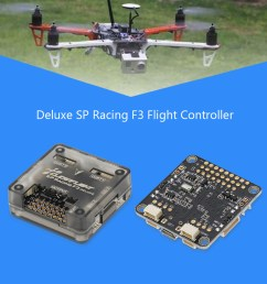 deluxe sp racing f3 flight controller board for qav210 250 rc fpv racing drone quadcopter [ 1000 x 1000 Pixel ]