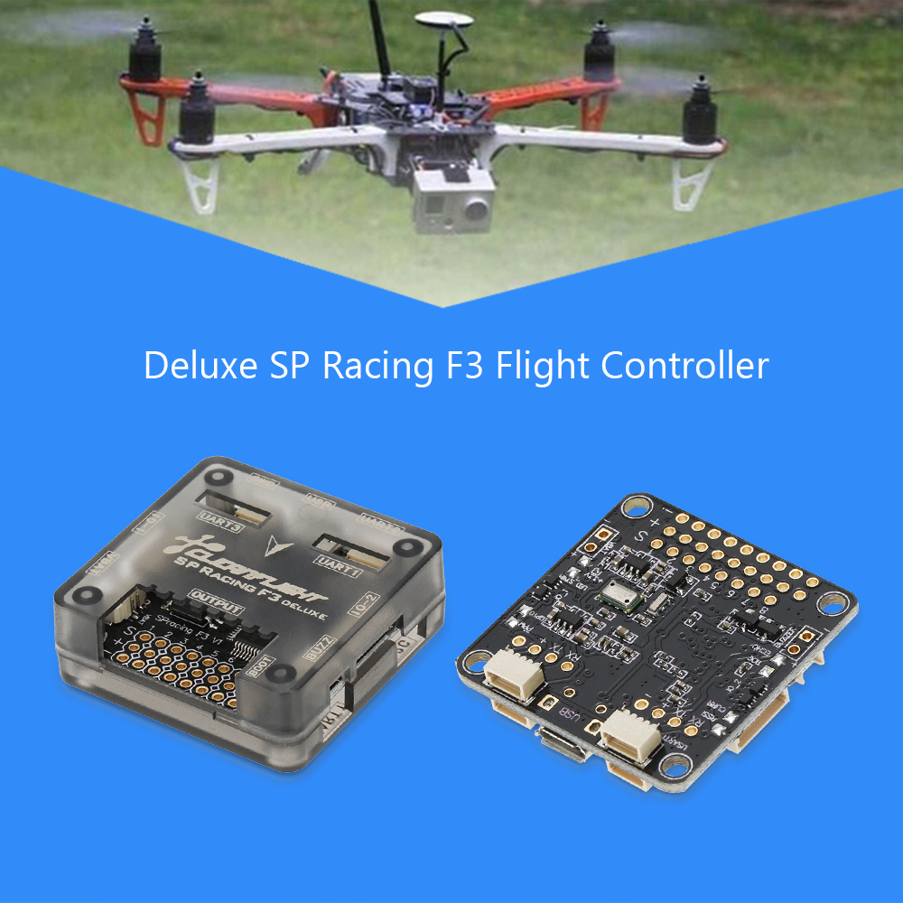 medium resolution of deluxe sp racing f3 flight controller board for qav210 250 rc fpv racing drone quadcopter