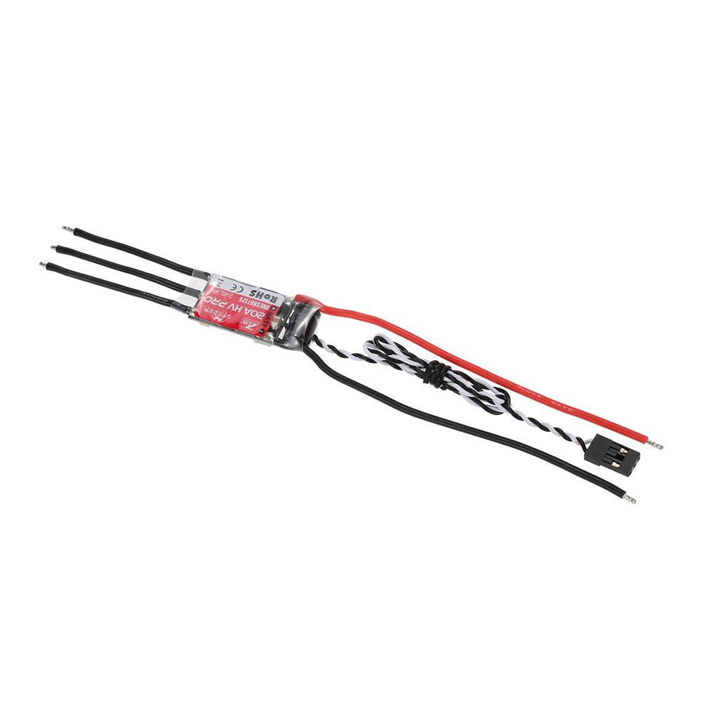 ZTW Spider PRO 20A HV OPTO 2-6S LiPo Battery Brushless ESC