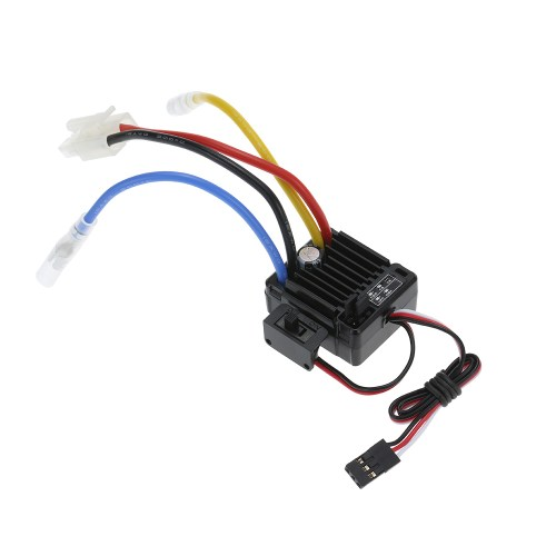 small resolution of goolrc 540 35t 4 poles brushed motor and wp 1060 rtr 60a waterproof brushed esc electronic speed controller with 5v 2a bec for 1 10 rc car