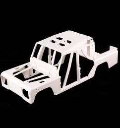 161001a hard plastic car shell body diy kit for 334mm wheelbase 1 10 crusader defender d110 station wagon rc crawler [ 1000 x 1000 Pixel ]