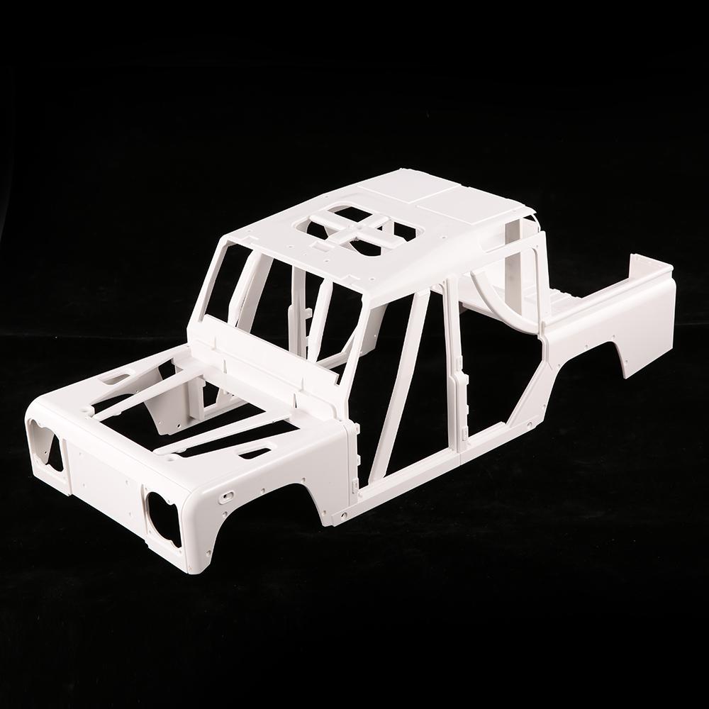 medium resolution of 161001a hard plastic car shell body diy kit for 334mm wheelbase 1 10 crusader defender d110 station wagon rc crawler