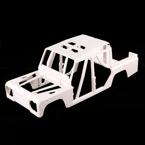 small resolution of 161001a hard plastic car shell body diy kit for 334mm wheelbase 1 10 crusader defender d110 station wagon rc crawler