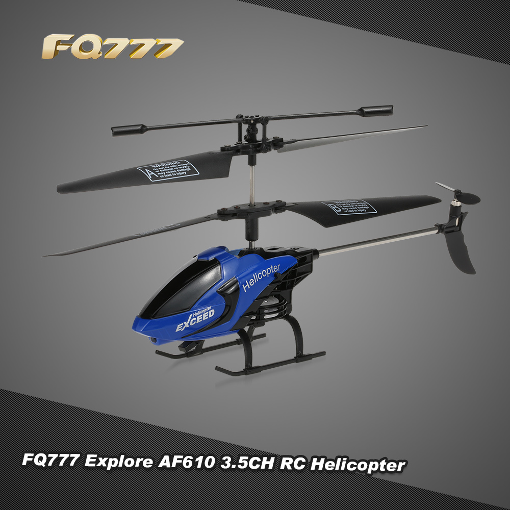 hight resolution of black blue fq777 610 explore 3 5ch rc helicopter with gyroscope rcmoment com