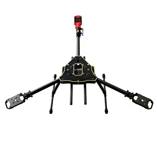 small resolution of happymodel y600 3 axis tricopter frame kit with servo