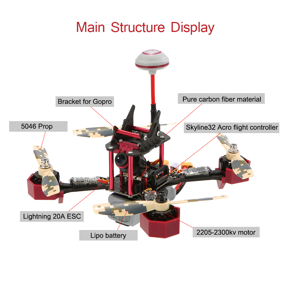 medium resolution of original jjrc jjpro p200 fpv racing drone skyline32 5 8g 600mw 48ch raceband 800tvl hd camera 2 4g 6 channel rc quadcopter multicopter arf