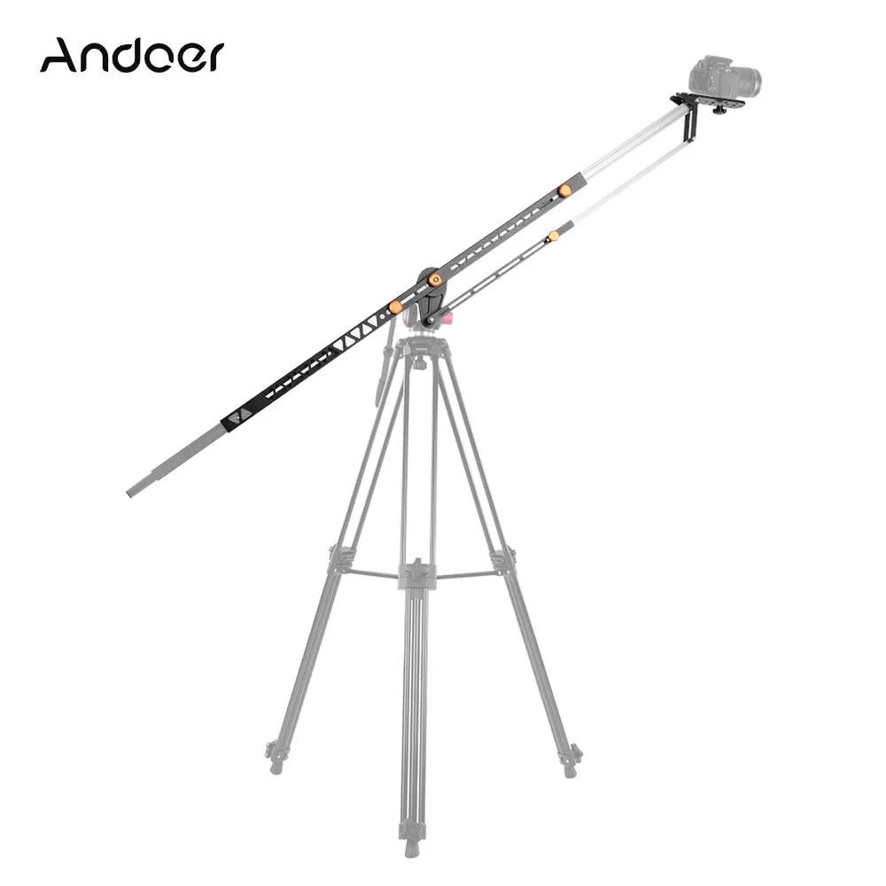 Andoer 2m/6.5ft Foldable Aluminum Alloy Camera Camcorder