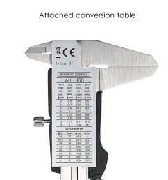stainless steel digital caliper 150mm scales callipers sales online tomtop [ 1000 x 1000 Pixel ]