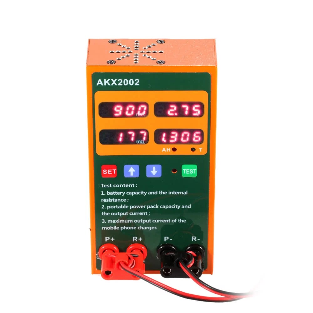 hight resolution of multi functional rechargeable battery tester voltage current internal resistance capacity measurement mobile phone charger power testing sales online e1293