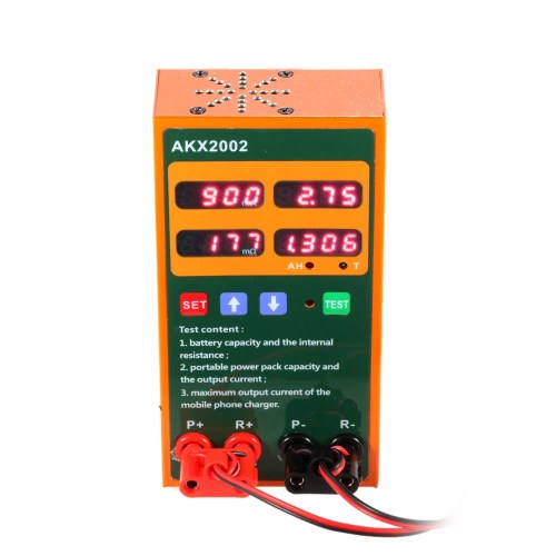 small resolution of multi functional rechargeable battery tester voltage current internal resistance capacity measurement mobile phone charger power testing sales online e1293
