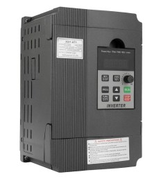 universal vfd frequency speed controller 2 2kw 12a 220v ac motor drive single phase in three phase out variable inverter at1 2200s sales online black  [ 1000 x 1000 Pixel ]