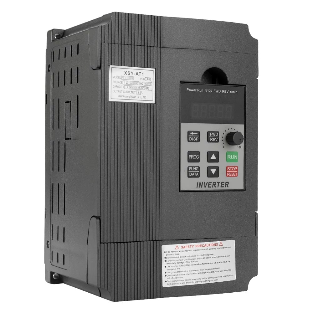 medium resolution of universal vfd frequency speed controller 2 2kw 12a 220v ac motor drive single phase in three phase out variable inverter at1 2200s sales online black