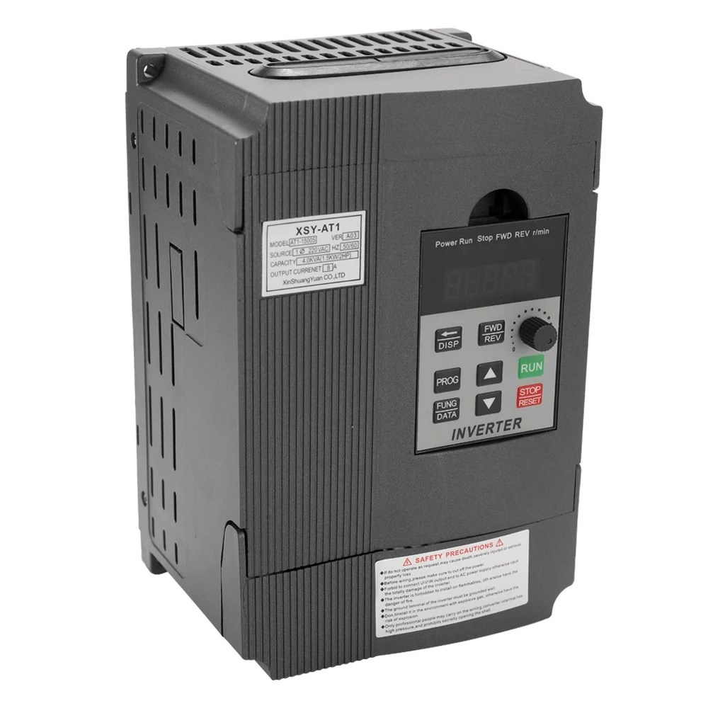 hight resolution of universal vfd frequency speed controller 2 2kw 12a 220v ac motor drive single phase in three phase out variable inverter at1 2200s sales online black