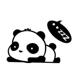 removable light switch decal cat panda cute animals sticker bedroom living room home decor cartoon figure pvc water resistant sticker sales online 4  [ 1000 x 1000 Pixel ]