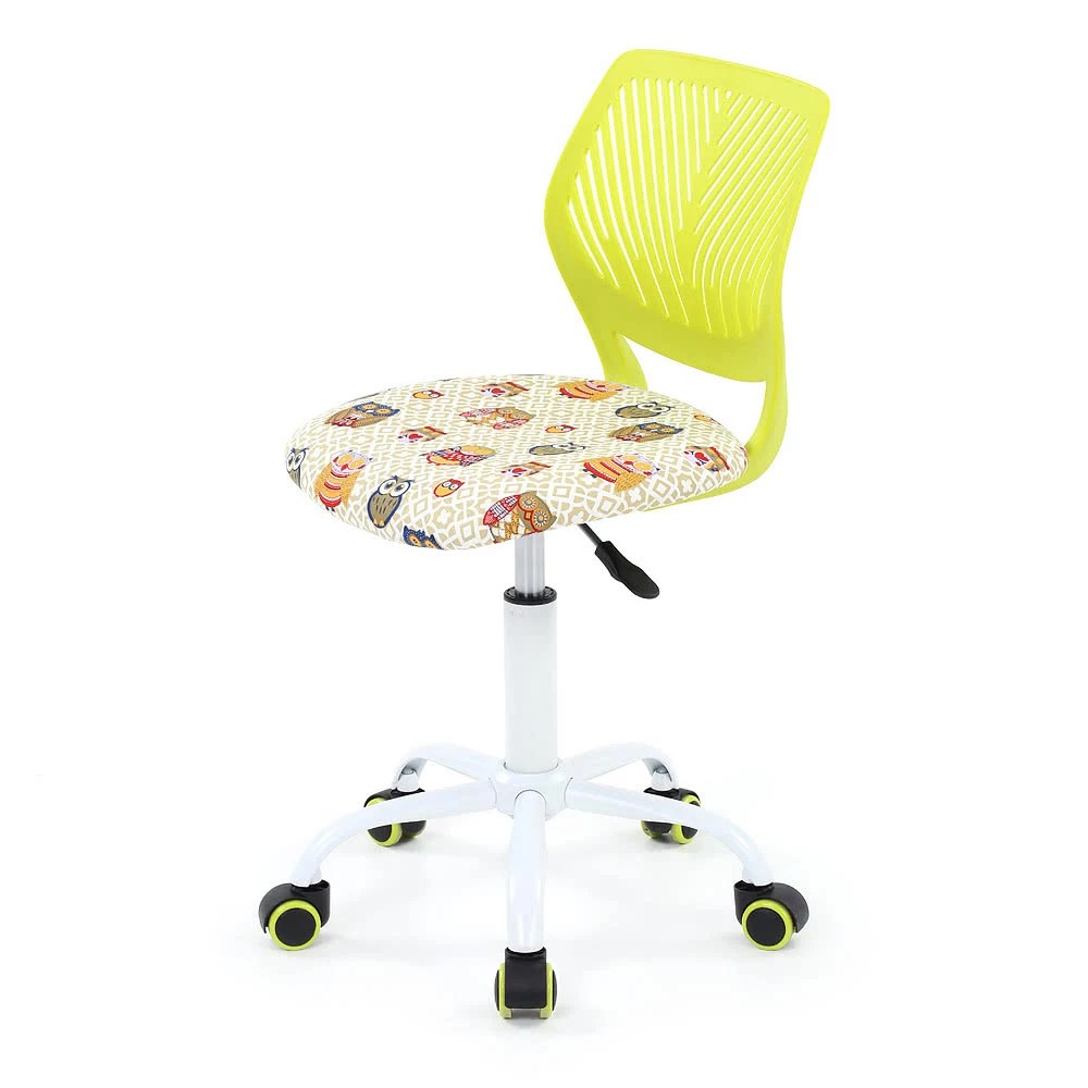 Teen Desk Chair Ikayaa Fashion Adjustable Fabric Teen Child Desk Chair Swivel Office Computer Task Chair Stool For Kids