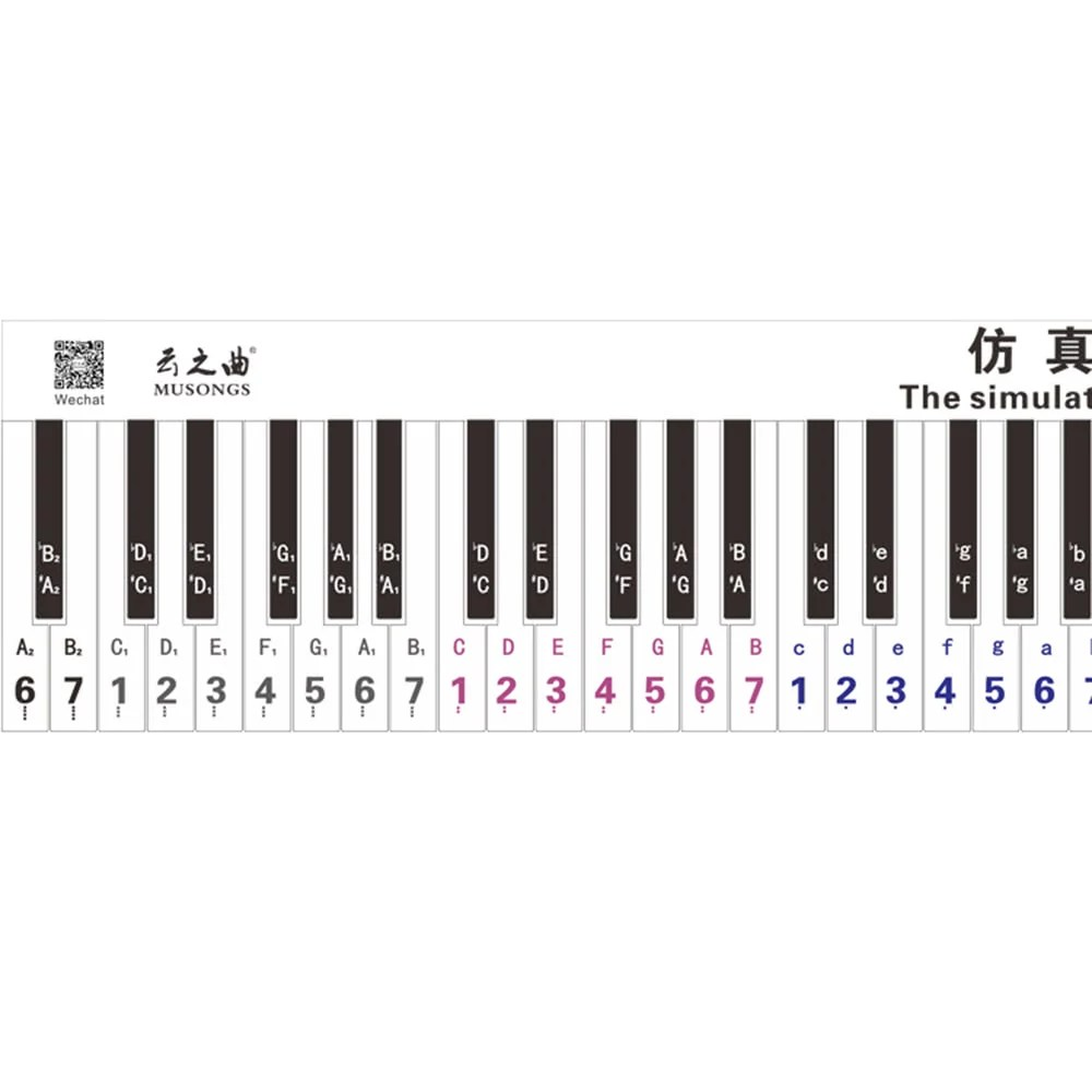 Controlled Version 88 Key Keyboard Piano Finger Simulation