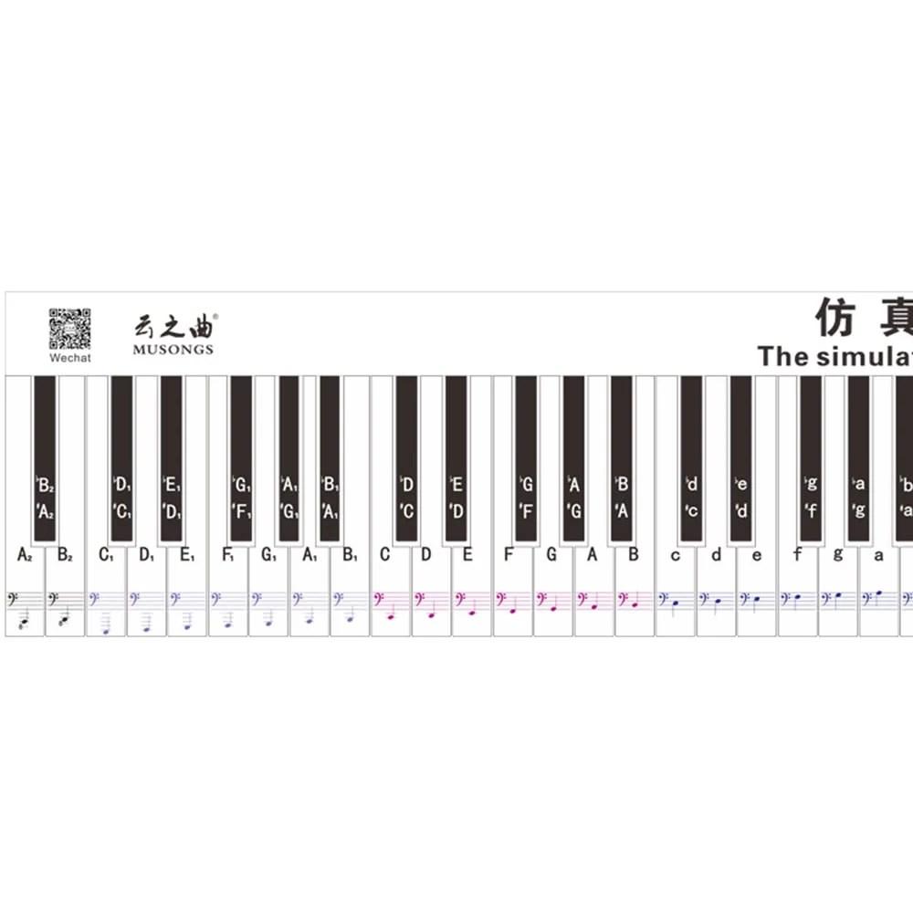 International Version 88 Key Keyboard Piano Finger